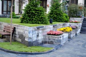 Amenajare spațiu verde - Primăria Brezoi